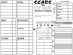hero forge character sheet statistical character generation and larp gameplay an example system