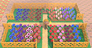 acnh flower field ideas how to make