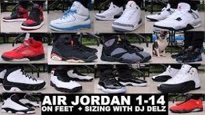 Air Jordan 1 14 Sneakers On Feet Youtube