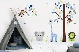 Get it as soon as mon, apr 5. Baby Boy Nursery Decals Animal Wall Art Baby Room Furniture Nurserydecals4you