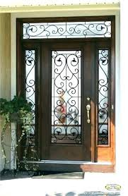 exterior front entry wood doors with glass frosted glass exterior door glass panels for front doors
