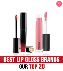 best lip gloss brands our top 20