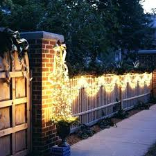 led outdoor fence lighting post solar lights deck oh sewing patterns design best light the way