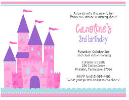 princess birthday invitations templates invitations ideas 3rd princess birthday party invitations