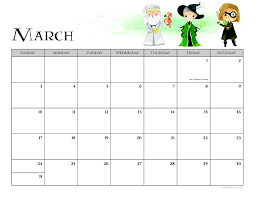 Free Harry Potter 2019 Printable Calendar Housewife Eclectic