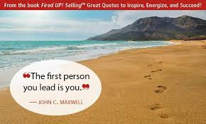 Voting Quotes New The First Person You Lead Is You John C Maxwell Be A Quote