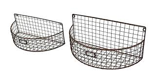 wall basket planter wire wall planters metal wall planters 2 metal mesh wire arch wall basket