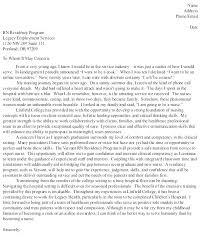 Examples Of Nursing Cover Letters Nursing Resume Cover Letter ...