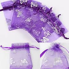organza gift bags jewelry wedding favors drawstring 6 x 4 party wedding 15cm x10cm rel bags whole lot