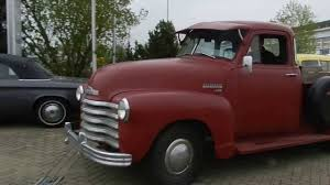 1953 Chevrolet half-ton 3100 Step Side Pickup Truck 5 Window - YouTube