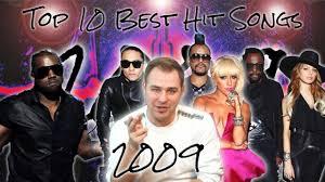 The Top Ten Best Hit Songs Of 2009