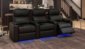 <b>Home Theater Seating</b> | Theater Room Furniture On Sale