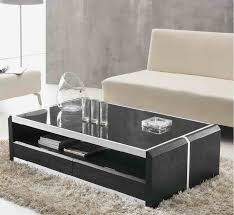 coffee table center table for living room center table with glass top and black wood