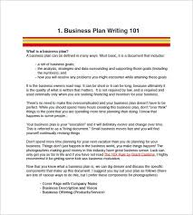 business plan writing fees