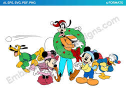 Mickey, Minnie, Goofy, Donald, Pluto 3 - Valentine's Day - Holiday Disney  Character Designs as SVG Vector for Print in 5 formats - DSNYH000666 •  Embroidery Stoc… | Disney characters, Mickey and friends, Character design