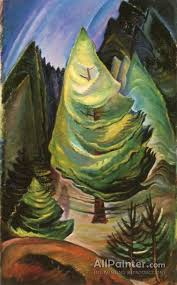 emily carr paintings for the little pine