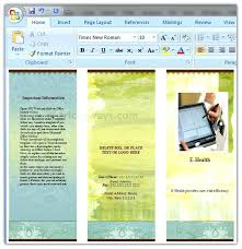 How To Make A Business Flyer In Word 4 Making Leaflet On
