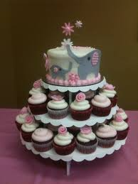Pictures Of Cupcake Cakes For Baby Shower  Baby Shower DecorationPull Apart Baby Shower Cupcakes