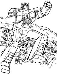 Transformers 4 Da Colorare Disegno