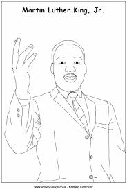 Small Picture Martin Luther King Colouring Page