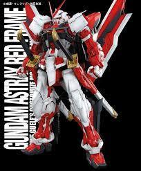mg gundam astray red frame kai english