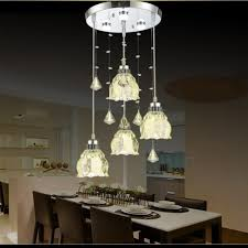 creative dining room chandelier. Dutti D0009 LED Chandelier Three European-style Restaurant Lights Crystal Dining  Room Chandelier Modern Minimalist Creative N