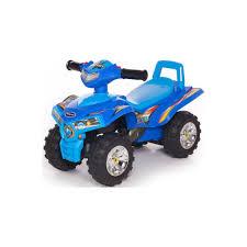 <b>Baby Care Каталка</b> детская Super ATV Синий/Светло-синий ...