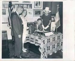 1966 Press Photo St Petersburg FL Mayor Herman Goldner, Marshall Barton |  eBay