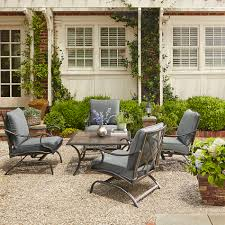 Grand Resort Collins Outdoor Chat Set with Granite Table Limited