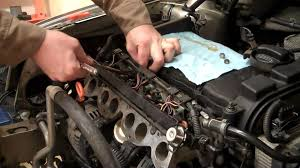vr6 injector removal 720p how to diy