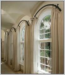 Arch Window Curtains To Choose Depend On What You Want To Achieve In The  Room : Arch Window Curtains Pictures. Arched ...