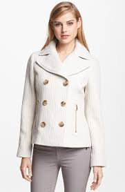 bella springfield cream peacoat from illinois by boutique