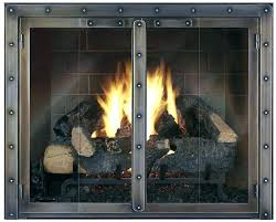 fireplace glass rocks gas with indoor