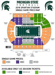 Michigan State University Seating Charts
