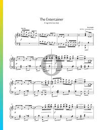 The entertainer (joplin)   easy piano sheet music. The Entertainer Sheet Music Piano Solo Pdf Download Streaming Oktav