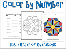 Order Of Operations Worksheet Beauteous Middle School Math Worksheets Order Of Operations 48 Myscres
