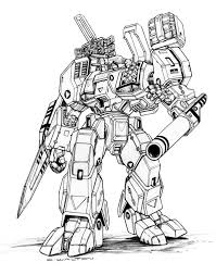 Robotech mbr 05 mk x tomahawkdestroid by chuckwalton