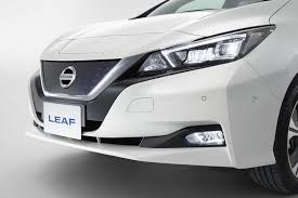 2018 nissan leaf nismo. simple 2018 2018 nissan leaf nismo front light and grill images intended nissan leaf nismo