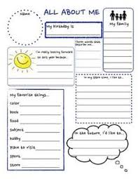 Small Picture all about me coloring pages pictures imagixs About me page