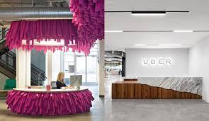 uber office design studio. Lyft Vs Uber Reception Area Office Design Studio