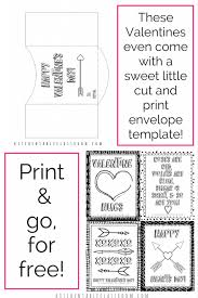 little envelope template printable cards to color the kitchen table classroom