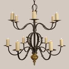 tuscany chandelier paul ferrante 42 inch d x 44 finish old iron for home lighting idea