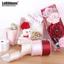 How To Make A Paper Ribbon Flower How To Make Rose Flower With Paper Ribbon Flowers Healthy