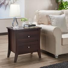 Furniture of America Beatrix Modern 2 drawer Nightstand Free