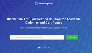 smart diploma enables academic institutions to store  smart diploma enables academic institutions to store certifications on blockchain bitrazzi
