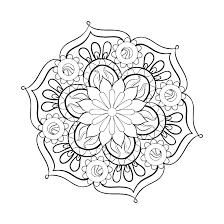 Animal Mandala Coloring Pages To Print Mandalas Coloring Pages