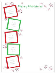 Christmas Newsletter Template Free Download Holiday Newsletter