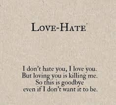 Love Hate Quotes Stunning Quotes Love And Hate Quotes In Hindi
