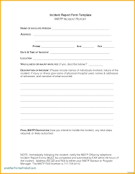 Accident Report Template Word Top Accident Report Form