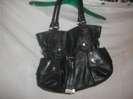 b makowsky women s black leather gold tone and 20 similar items 57